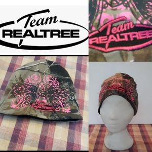 Camouflaged Realtree team Realtree toque hat